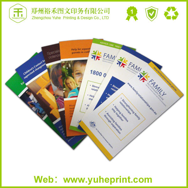 Presentation factory manufacture A4 size paper printing manila folder