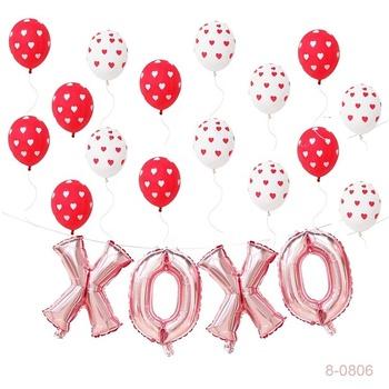 Valentines Day Decorations Xoxo Balloons Anniversary Valentines