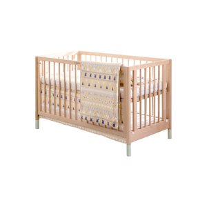 China Good wooden baby bed wood cot white crib with CE certificates