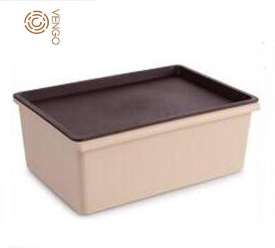 Multi Function Widely use Storage Box <strong>plastic</strong> with Lid, <strong>Plastic</strong> Container, Low MOQ Bedroom Storage