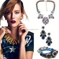 cheap statement necklace, indian ethnic jewelry wholesale jewelry, horn necklace