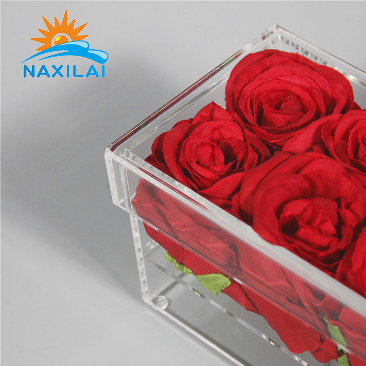 acrylic flower box-20