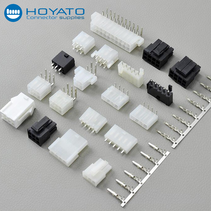 MOLEX MINI-FIT JR SERIES 8 WIRE CONNECTOR SET Package Of 2 Complete Sets