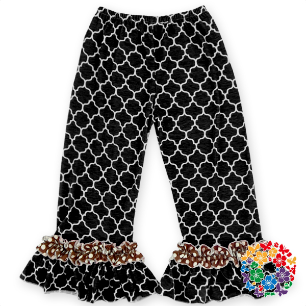 87eada8bf High Quality Icing Baby Kids Leggings Baby Girl Ruffle Pants With Stock  Toddler Leggings Wholesale