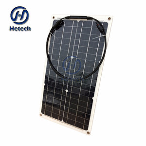 Professional manufactures flexible 30w 12v solar powered homes