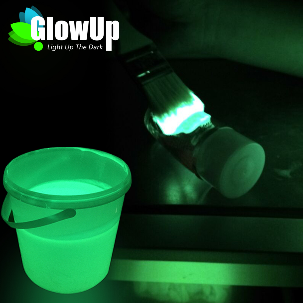 Radiation-Free In The Dark Fluorescent Oil Glow Paint