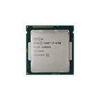 Ght Factory Fast Delivery Lga1150 Intel Core Used I7 4790 Cpu 3.6Ghz Processor Cpu