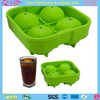 2014 The Most Popular Round Freeze Silicone Ice Mold