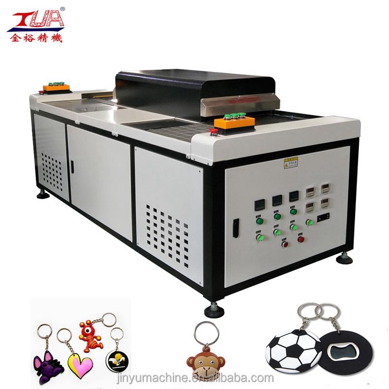JY-S02 custom soft pvc keychain baking machine