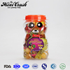 Hot sales lovely bear candies food jar halal gummy candy