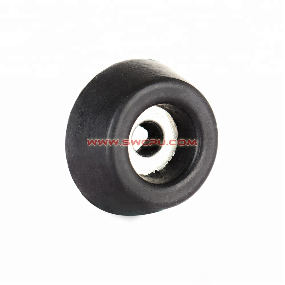 Vulcanized black rubber based foot for air compressors