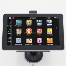 "Wince 6.0 MTK 800MHZ MSB2531 GPS Navigation with 5"" HD LCD display and map"