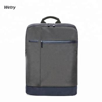Multifunctional waterproof slim anti theft travel smart laptop backpack bag