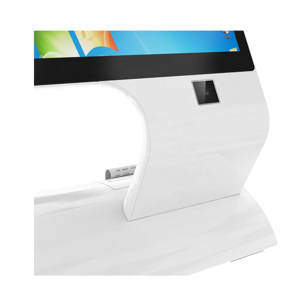 Windows/Android 15.6inch Dual Screen Touch POS System with NFC and QR Code Scanner Optional
