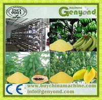 Electric Fruit Vegetable Powder Processing Line /Fruit Powder Production Line