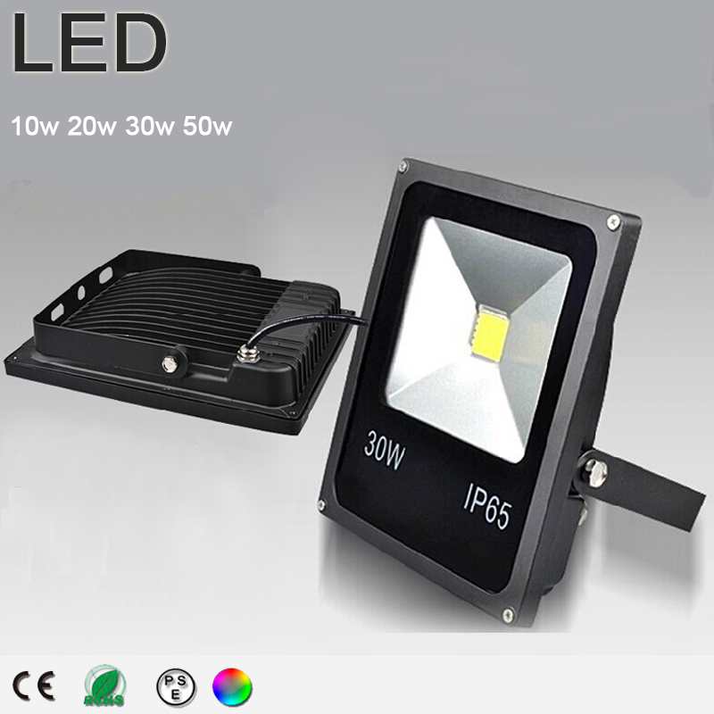 ip65 rgb led flood light 10w 20w 30w 50w foco led exterior spotlight led outdoor. Black Bedroom Furniture Sets. Home Design Ideas