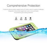 "2016 PC waterproof/Shockproof Case Cover with stand for Iphone 6 Plus 5.5"" Green"