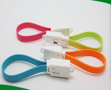 colorful cable micro USB for apple iPhone 4 otg cable