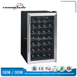 28-bottles thermoelectric stainless steel wine cellars
