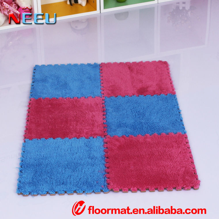 eva household polyester floor mat
