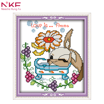 graphic regarding Printable Embroidery Patterns referred to as Nkf Dmc Embroidery Floss Appreciate Is Aroma Cartoon Design Basic Embroidery Programs Printable Cross Sch Behaviors - Invest in Cross Sch Designs,Embroidery