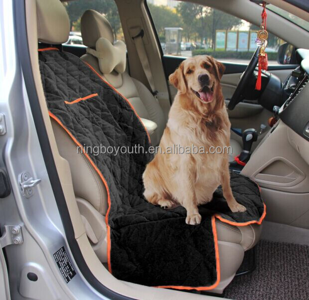 PC0101 Pet Car Front Seat Cover For Dogs Waterproof Pet Bucket Seat Cover For Cars, Trucks and Suvs, Nonslip Design
