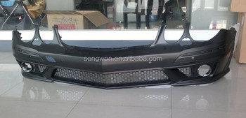 Car Accessories For Ben-z W211 E63 Amg Front Bumper - Buy W211 E63 Amg Style Front Bumper,Pp