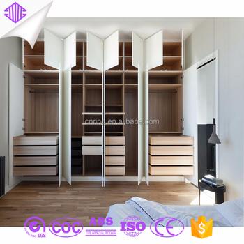 Bedroom Wooden Door Wardrobe Clothes Cabinet Almirah Godrej With