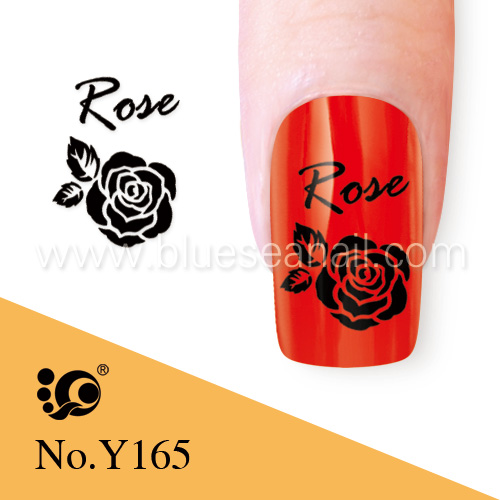 nail charms, water transfer nail tattoo, nailart, toe nail sticker