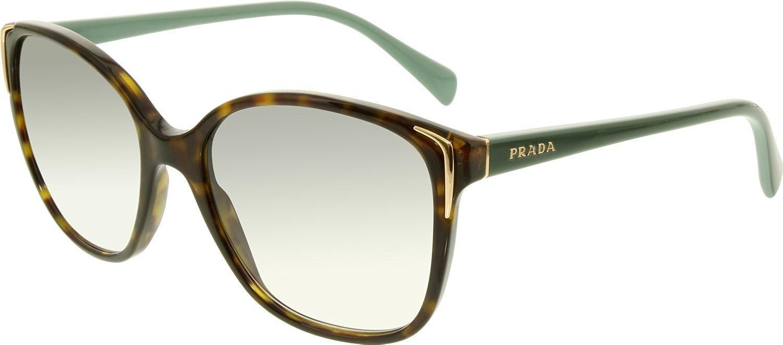 162a35d4be7b Get Quotations · Prada PR01OS Sunglasses 2AU1E0-55 - Havana Frame