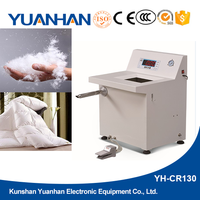 Automatic electronic duvet goose feather down filling machine