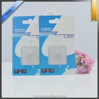 Clear pvc plastic packaging box for U disk
