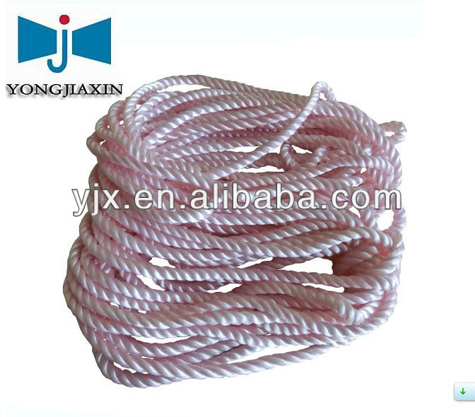 good korea silk twisted cord rope