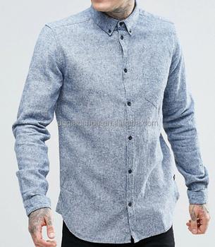 192b62fff208 2017 Wholesale Branded Long Sleeve Mens denim Shirt Classic Fashion Cheap  Price Mens Jeans Shirt Supplier