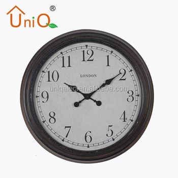 M2416 2016 New Style Decorative Wall Metal Clock Buy