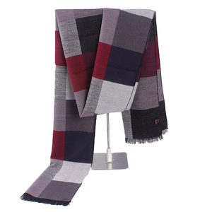 Fashion Design Wide Cotton Men Scarf