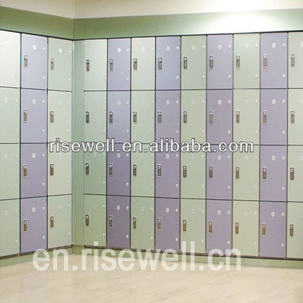 Creative solid HPL school locker system