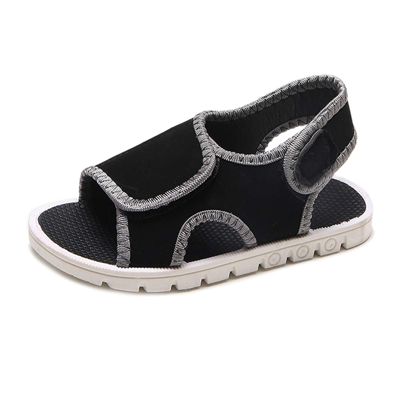YIBLBOX Boys Girls Kids Flat Summer Beach Shoes Outdoor Sport Sandals