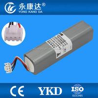 Fukuda replacement 12v nimh battery pack for fukuda denshi P/N T8HRAAU