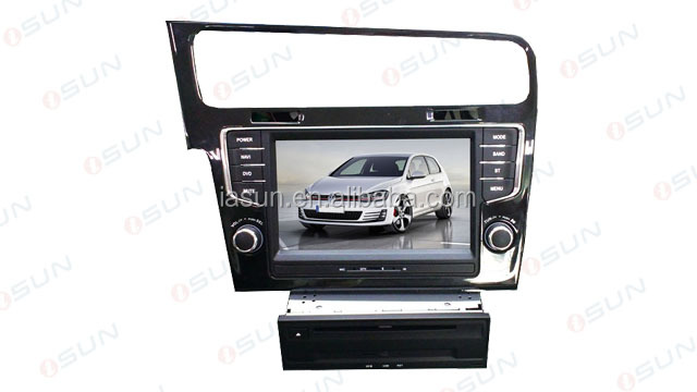 iSun car dvd 7 inch GOLF 5 6 PASSAT CC Car DVD Media System made in China
