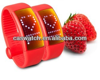 korea style LCD digital silicone watch made in china LED chronograph digital watch with pedometer function wholesale