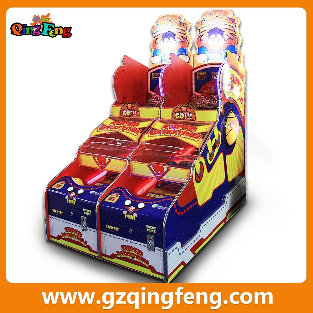 China qingfeng New Model Arcade Street Basketball Machine / Sport Basketball Machine / Shooting Basketball Game