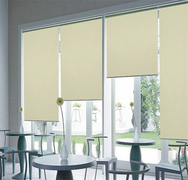 Pvc Coated Blackout Sunscreen Roller Blind Fabric With Low