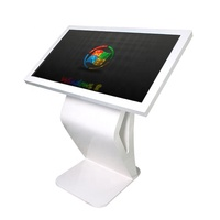 43 INCH touch monitor advertising kiosk,touch screen lcd monitor floor stand,touch display table