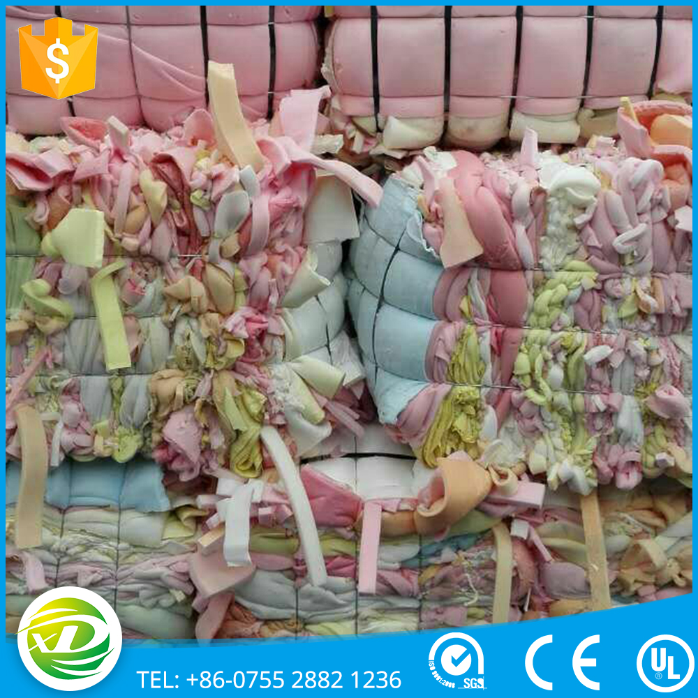 High grade 20~30%kg/m3 pu scrap foam toy fillings
