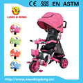2016 luxury new baby tricycle with suspension and stopper for children