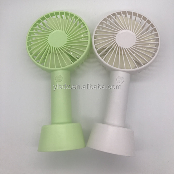 Hot Sale Novel Design Mini Usb Rechargeable Rotation Adjustable Handy Electric Portable Fan