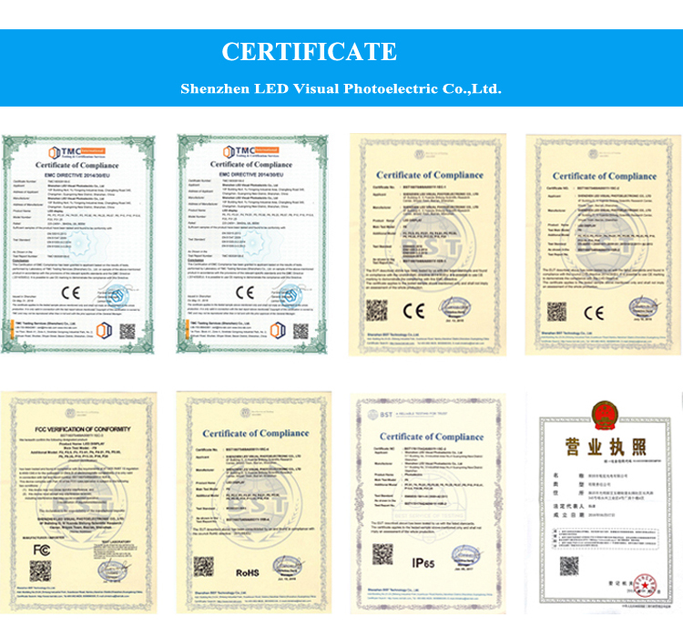 China Company Publicity 1R1G1B Static Driving Vollfarbiges LED-Anzeigenmodul für PH16