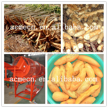 cassava Peeler And Washer and Cassava peeling and Washing Machine