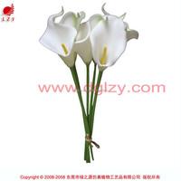 Wholesale decorative artificial table calla lily flowers for floral arrangement